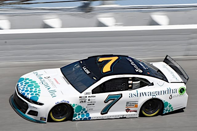 2021 Daytona I Cup Corey LaJoie car NKP