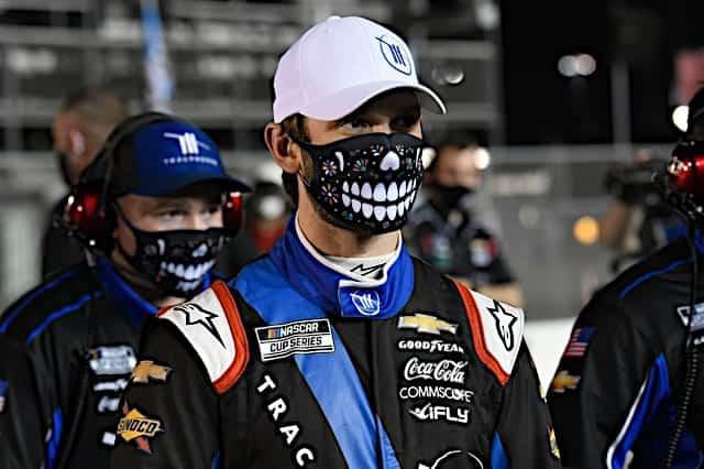 Daniel Suarez before the 2021 Daytona 500 Cup NKP