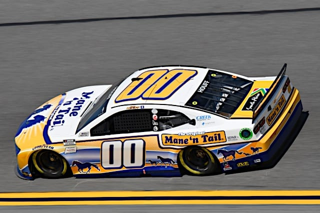 Quin Houff car in Daytona 500 Photo Nigel Kinrade Photography