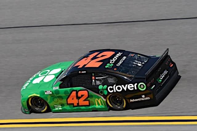 Ross Chastain No. 42 Chip Ganassi Racing car in 2021 Daytona 500