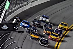 Aric Almirola wins the 2021 Daytona Duel #1