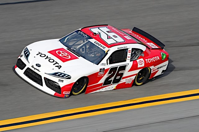 2021 Daytona I NXS Brandon Gdovic car NKP