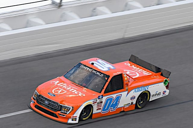 Cory Roper During Truck Practice in Daytona, 2/11/2021