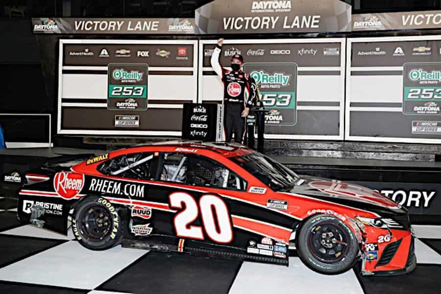 2021 Daytona RC Cup Bell Victory Lane NKP 1