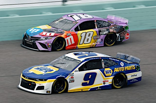 2021 Homestead Cup Chase Elliott Kyle Busch Racing NKP