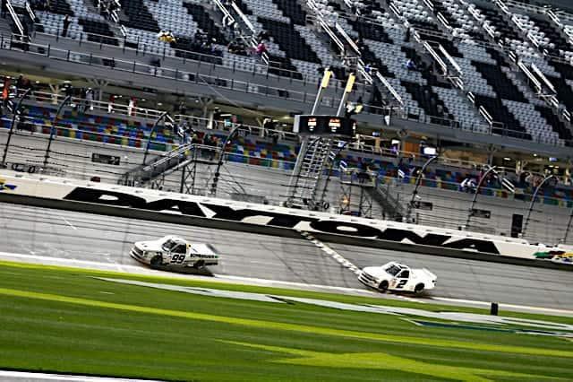 2021 Trucks Daytona Road Ben Rhodes, No. 99 ThorSport Racing Toyota, Win (Credit: NKP)
