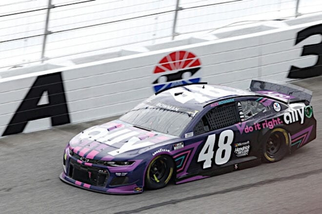 Alex Bowman at Atlanta
