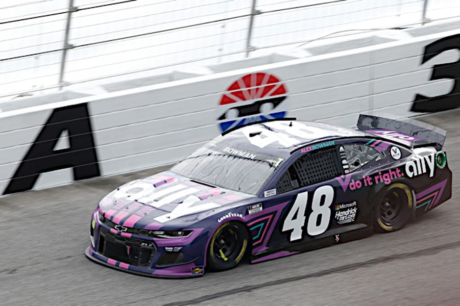 Alex Bowman at Atlanta