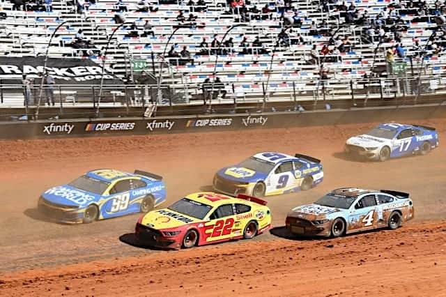 NASCAR Cup on Bristol dirt