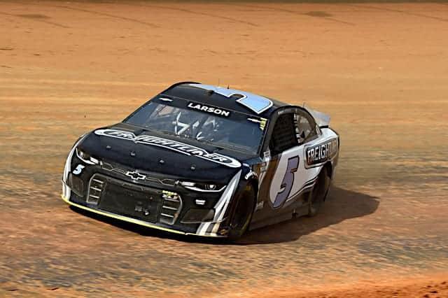 2021 Cup Bristol Dirt Practice Kyle Larson, No. 5 Hendrick Motorsports Chevrolet (Credit: NKP)