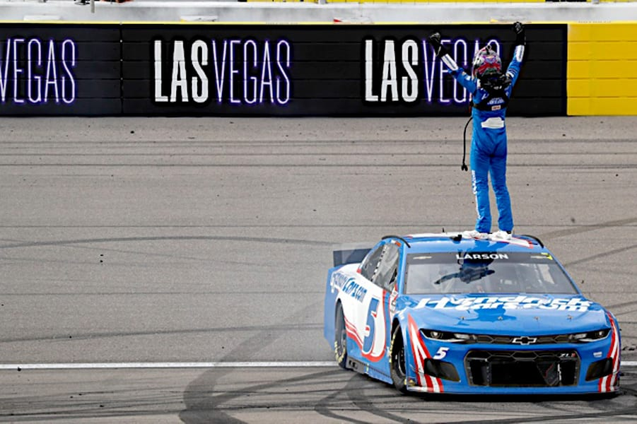 2021 Cup Las Vegas I Larson Victory NKP