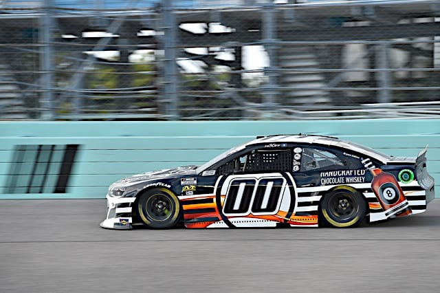 Quin Houff's Cup car at 2021 Homestead race Photo NKP