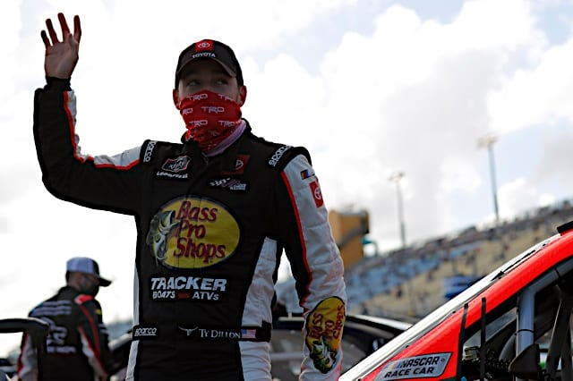 Ty Dillon at Homestead
