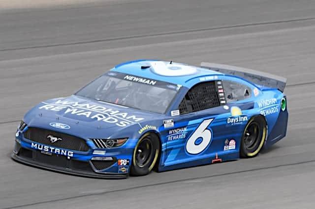 2021 Las Vegas I Cup Ryan Newman car NKP