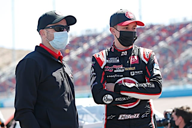 2021 Phoenix I Cup Christopher Bell face NKP