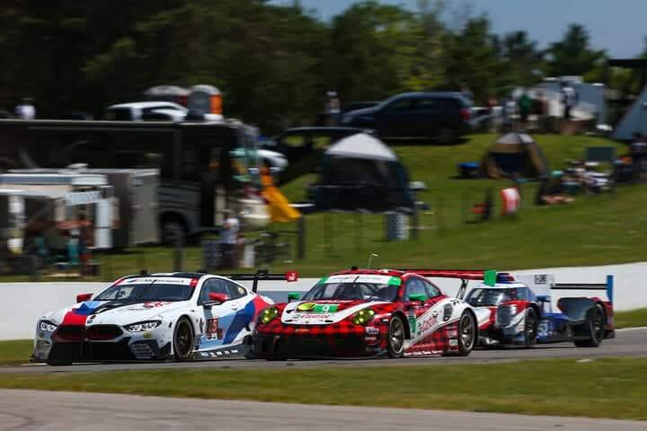 Interclass racing at Canadian Tire Motorsport Park, 7/7/2019 (Photo: Courtesy of IMSA)