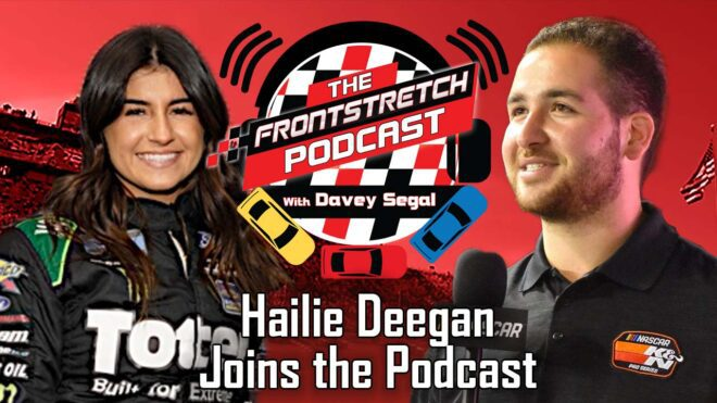 Hailie Deegan joins Davey Segal on the Frontstretch Podcast